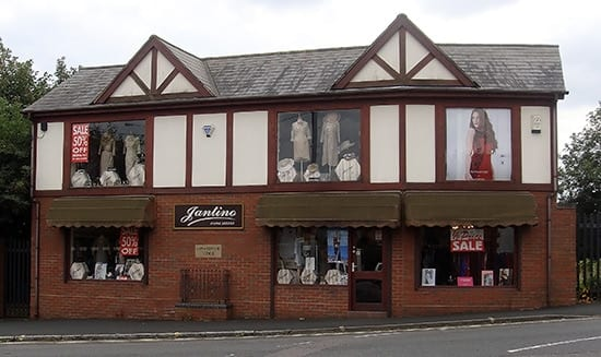 Jantino Main Shop, Quarry Bank