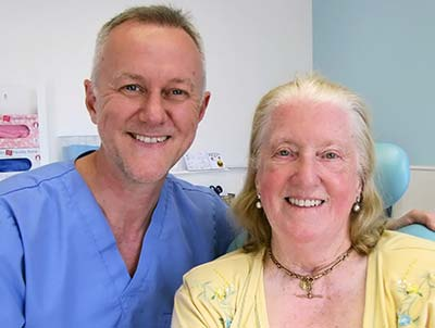Case Study - Theresa after treatment with Steven Burchell