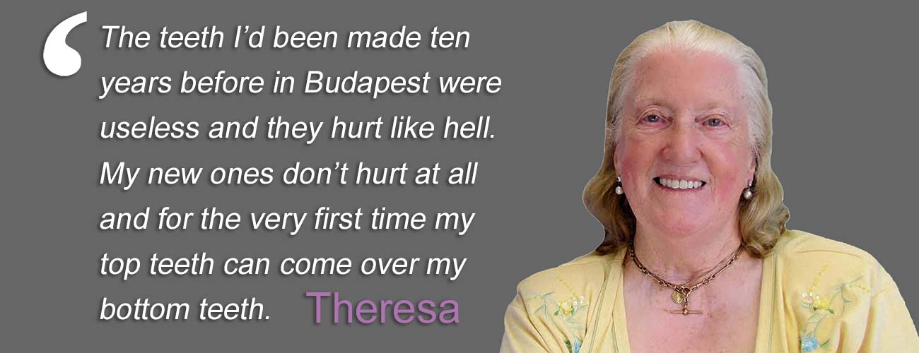 Case Study - Theresa quote