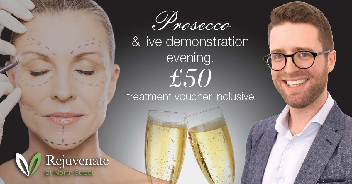 Prosecco and live demonstration evenings
