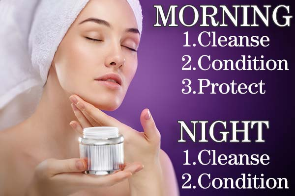 Our recommended skin routine