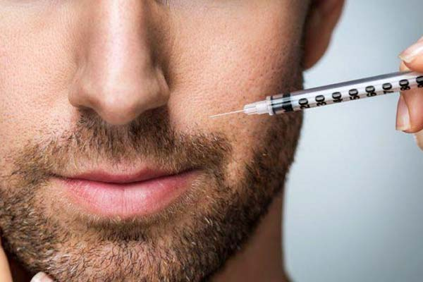 treatments for men - anti-wrinkle injections