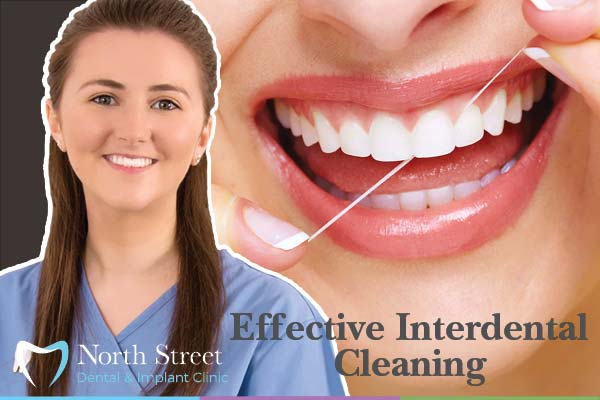 Effective interdental cleaning