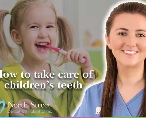 How to take care of children's teeth